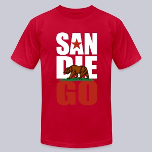 SDGO - Men's T-Shirt by American Apparel