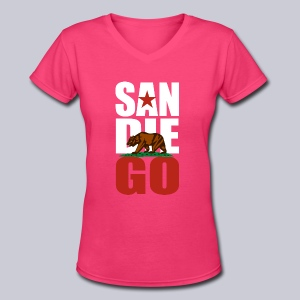 SDGO - Women's V-Neck T-Shirt
