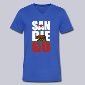 SDGO - Men's V-Neck T-Shirt by Canvas