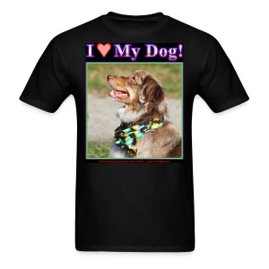 I Love My Dog_5 - Men's T-Shirt