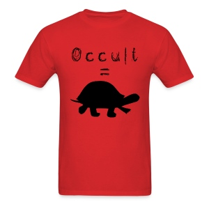Mens Occult=Turtles T-Shirt - Black Turtle - Men's T-Shirt