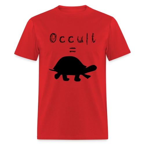 Mens Occult=Turtles T-Shirt - Black Turtle - Men's T-Shirt