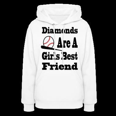 Diamonds Are A Girls Best Friend Hoodies