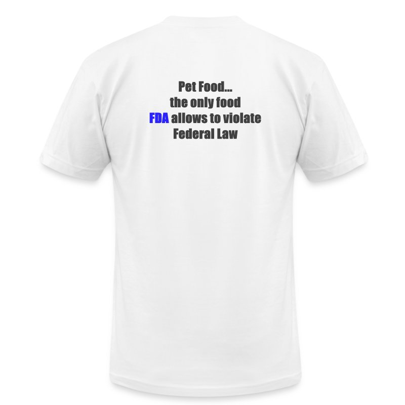 Violate Federal Law - Men's T-Shirt by American Apparel