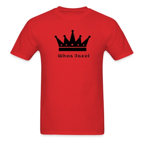 Whos Jazzi King Shirt - Men's T-Shirt