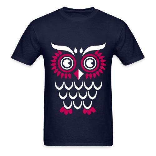 Ornate Owl - Men's T-Shirt