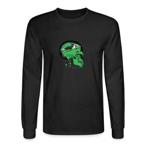 SLDHED LONG SLEEVE GRN/BLK - Men's Long Sleeve T-Shirt