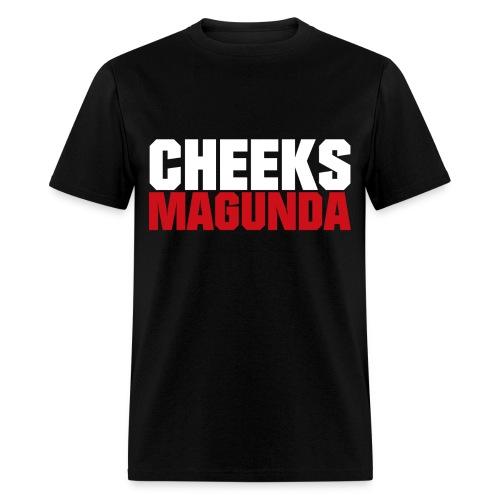 Cheeks Magunda(blk) - Men's T-Shirt