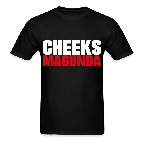 Cheeks Magunda(blk) - Men's T-Shirt