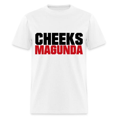 Cheeks Magunda(wht) - Men's T-Shirt