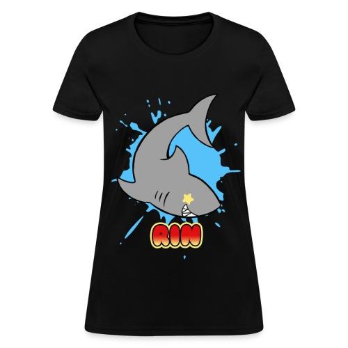 Free Shark Ladies Tee - Women's T-Shirt
