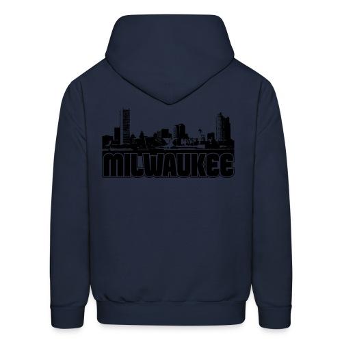 Milwaukee Skyline - Men's Hoodie