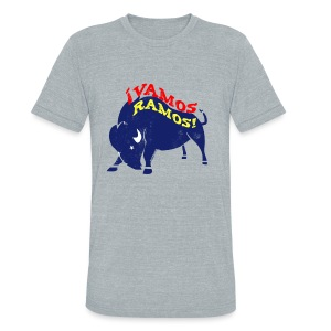Vamos Ramos - Men's Triblend T - Unisex Tri-Blend T-Shirt by American Apparel