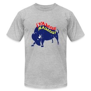 Vamos Ramos - Men's AA T - Men's T-Shirt by American Apparel