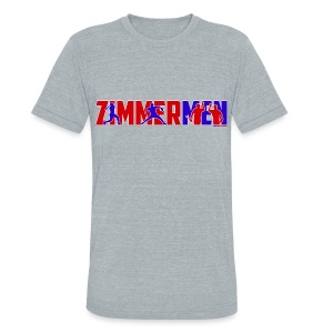 Zimmermen - Men's Triblend Multicolor - Unisex Tri-Blend T-Shirt by American Apparel