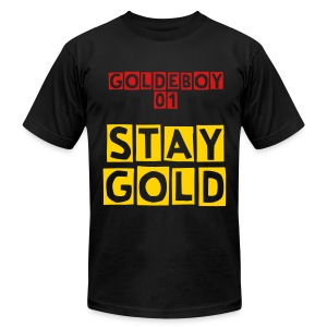 Stay Gold For Men - Men's Fine Jersey T-Shirt