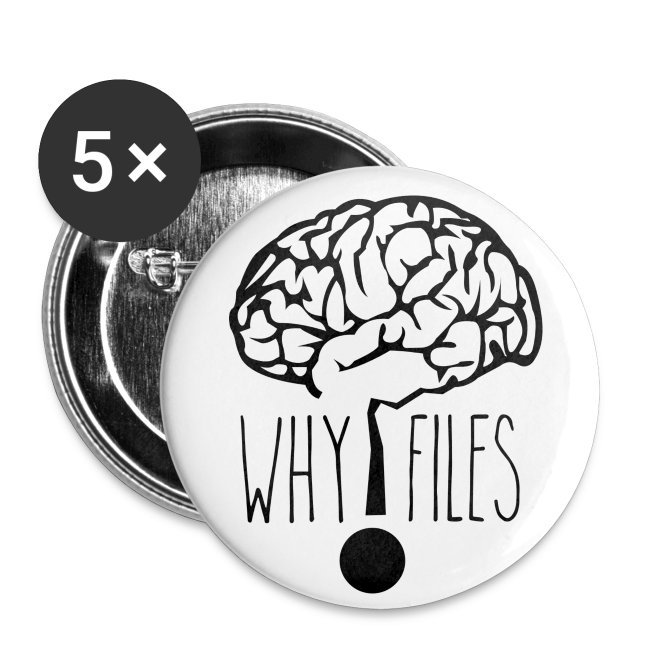 5-Pack Why Files Buttons