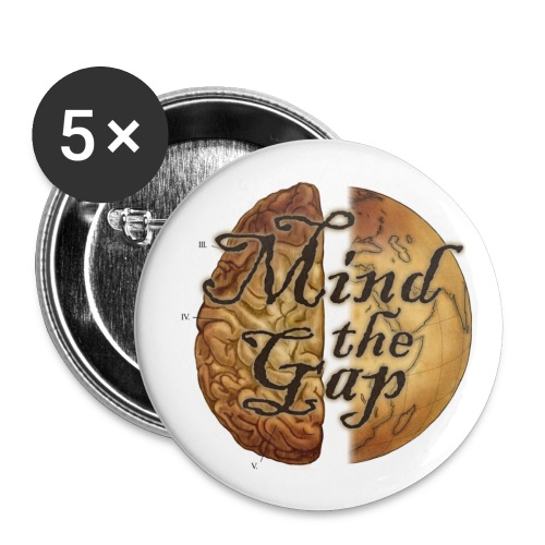 Small 5-pack buttons - Small Buttons