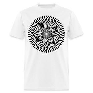 Optical/Spiral 1 - Men's T-Shirt