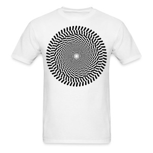 Optical/Spiral 1 - Men's T-Shirt
