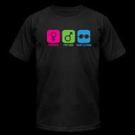 T-Shirts ~ Men's T-Shirt by American Apparel ~ Mother-Father-Gentleman (Standard Tee)