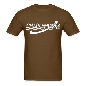 Chain Smoker Men's Disc Golf Shirt  - Men's T-Shirt