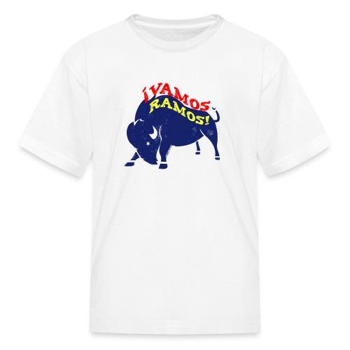 Vamos Ramos - Kids' White - Kids' T-Shirt