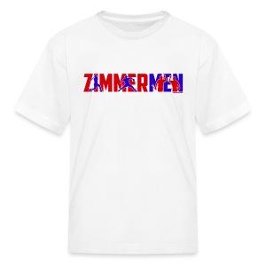 Zimmermen - Kids' White - Kids' T-Shirt