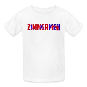 Zimmermen - Kids' White - Kids' T-Shirt