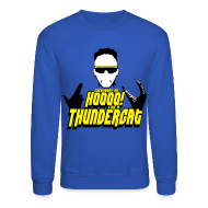 Long Sleeve Shirts ~ Crewneck Sweatshirt ~ Die Thundercat Crew
