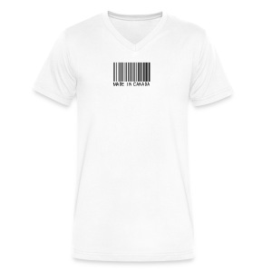 Made In Canada - Men's V-Neck T-Shirt by Canvas