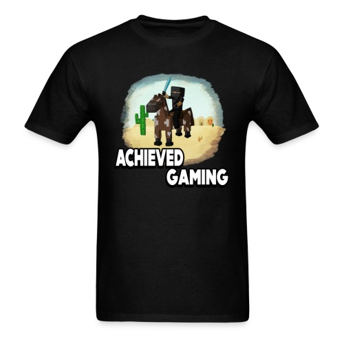 Men's Shirt | How To Ride A Horse In Minecraft  - Men's T-Shirt