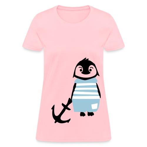 Penguin Anchor - Women's T-Shirt