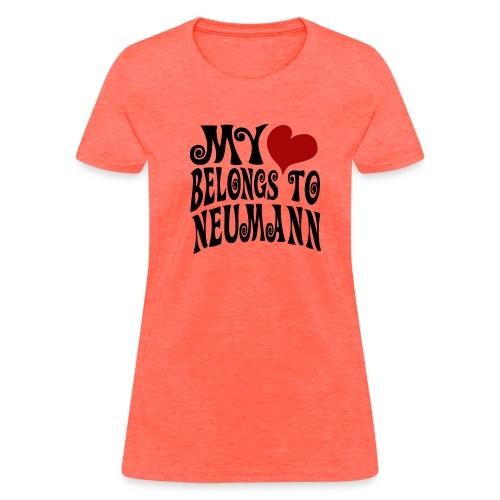 Women's Red Heart Neumann Standard Weight T-Shirt  - Women's T-Shirt