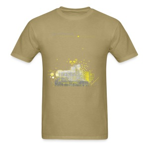 Northern Lights T-Shirt - Standard - Khaki - Men's T-Shirt