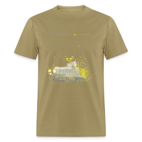 Northern Lights T-Shirt - Standard - Khaki - Men's T-Shirt