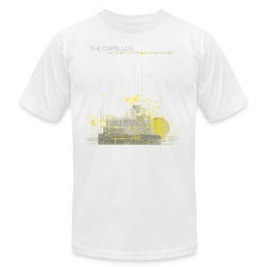 Northern Lights T-Shirt - AA - White - Men's T-Shirt by American Apparel