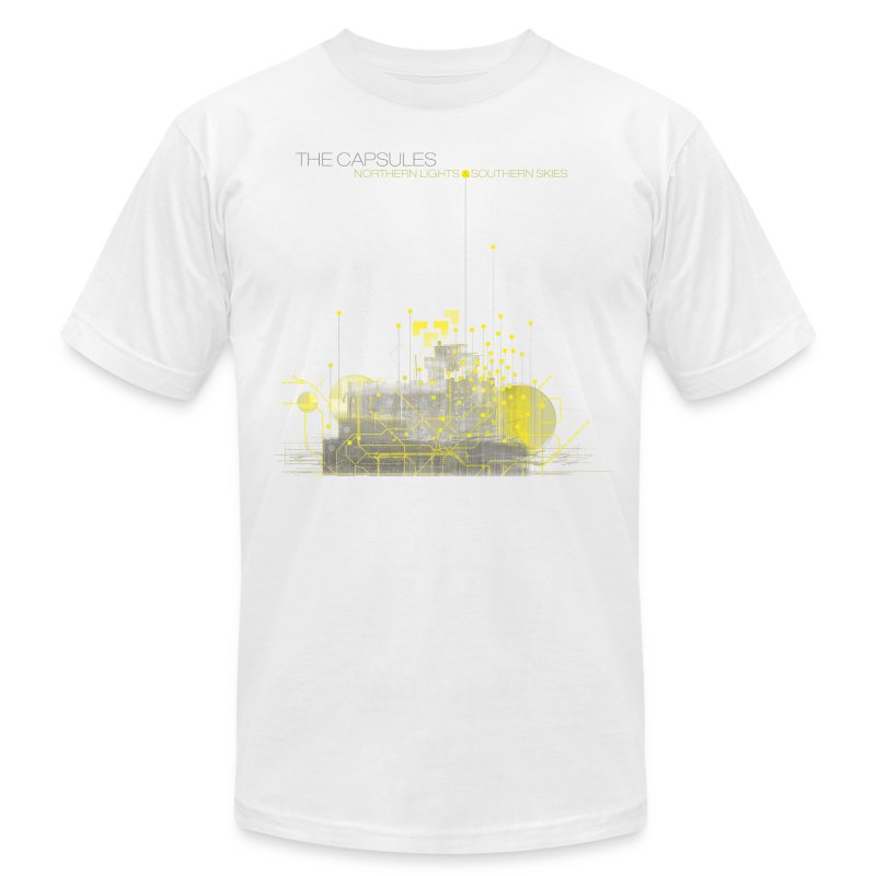 Northern Lights T-Shirt - AA - White - Men's Fine Jersey T-Shirt