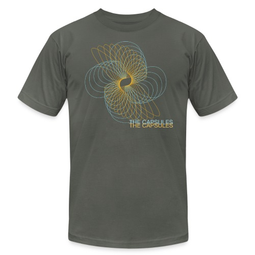 Spiral T-Shirt - AA - Asphault - Men's Fine Jersey T-Shirt