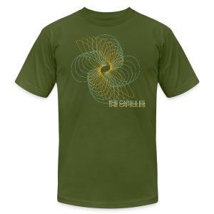 Spiral T-Shirt - AA - Olive - Men's Fine Jersey T-Shirt