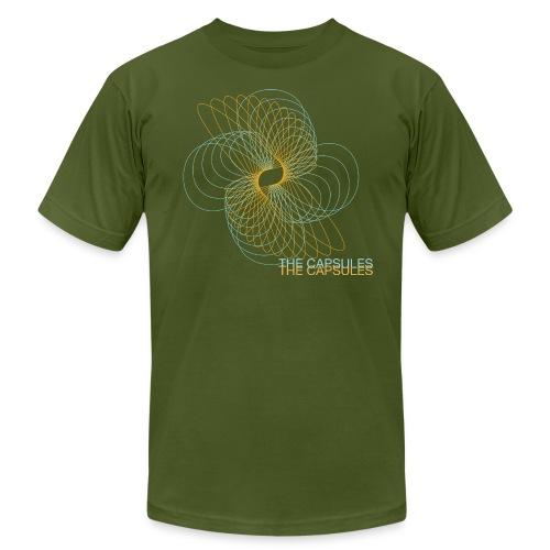 Spiral T-Shirt - AA - Olive - Men's  Jersey T-Shirt