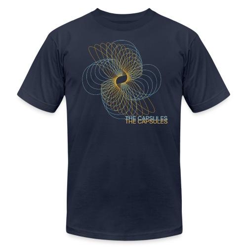 Spiral T-Shirt - AA - Navy - Men's Fine Jersey T-Shirt