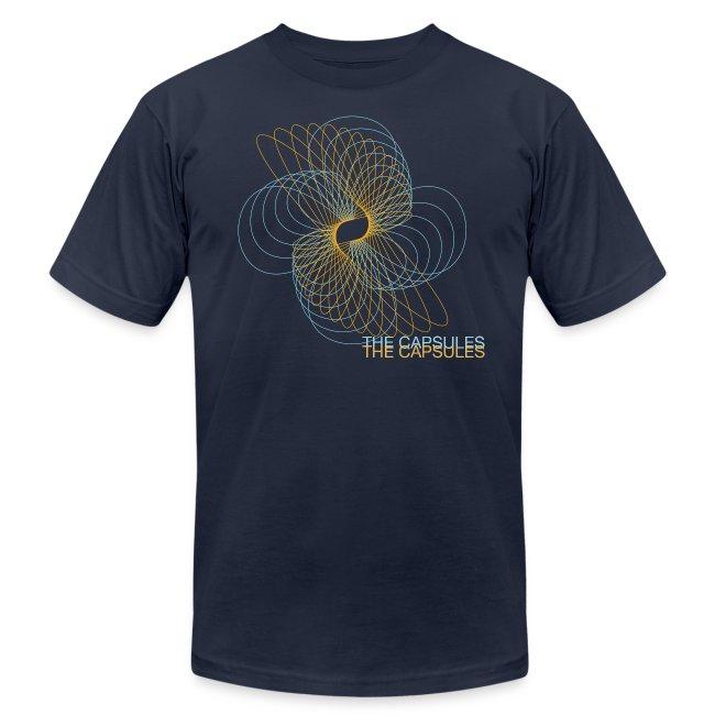 Spiral T-Shirt - AA - Navy