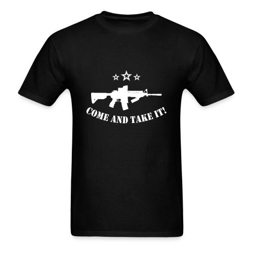 Gun Control t - Men's T-Shirt