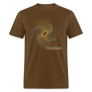 Spiral T-Shirt - Standard - Brown - Men's T-Shirt