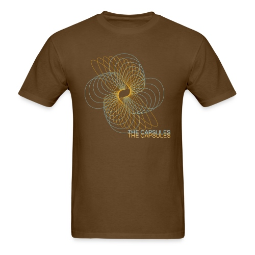 Spiral T-Shirt - Standard - Brown - Men's T-Shirt