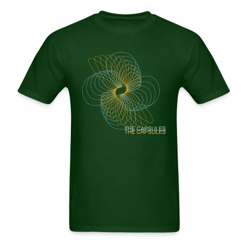 Spiral T-Shirt - Standard - Forest Green - Men's T-Shirt