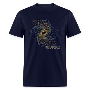 Spiral T-Shirt - Standard - Navy - Men's T-Shirt