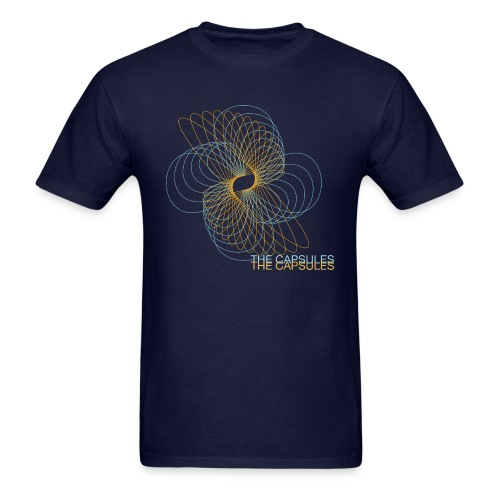 Spiral T-Shirt - Standard - Navy - Men's T-Shirt