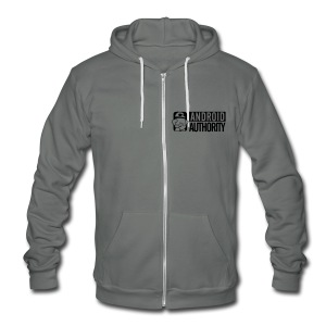 Unisex Fleece Zip Hoodie by American Apparel - Unisex Fleece Zip Hoodie by American Apparel